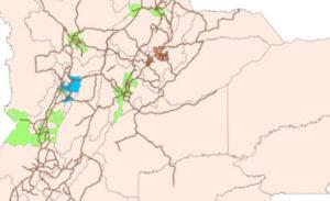Estrategia de transporte interurbano de corta distancia – Colombia
